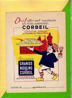 PROTEGE CAHIER   : Grands Moulins De CORBEIL Pates Alimentaires - Coberturas De Libros