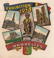 Expo 58 - Aufkleber