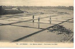 Carte Postale - CPA N°27 LOIRE ATLANTIQUE - LE CROISIC - Les Marais Salants - Panorama Vers Batz.. - Le Croisic