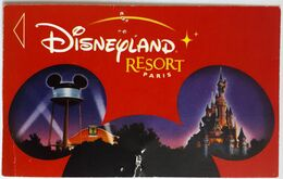 Entrée Disneyland Resort Paris 2003 - Eintrittskarten