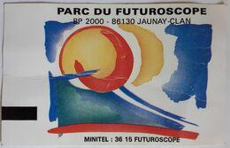 Billet Parc Du FUTUROSCOPE 1997 - Eintrittskarten