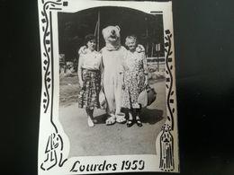 LOT 3 PHOTO Déguisement Eisbär Ours Blanc Polaire à LOURDES HÔTEL DE LA CROIX BLEUE OCCITANIE HAUTES-PYRÉNÉES FRANCE - Places