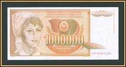 Yugoslavia 1000000 Dinars 1989 P-99 UNC - Jugoslavia