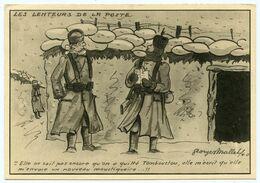 WWII. Guerre 1939-45 Illustrateur Georges Mallet. Humour. Les Lenteurs De La Poste. - Guerre 1939-45