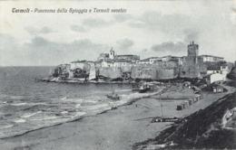 R416937 Termoli. Panorama Della Spiaggia E Termoli Vecchio. 105 4976 Editore Vittorio Stein. 1578. Venezia - Cartoline