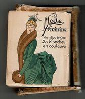 LA MODE FEMININE De 1870 à 1900 - 20 PLANCHES En COULEURS COLORIER à La MAIN - 57 GRAVURES  -TOP TRES RARE, VOIR SCANS - Prints & Engravings
