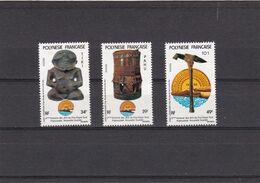 Polinesia Nº 153 Al 155 - Polinesia Francese