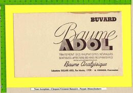 BUVARD :Pharmacie . Baume  ADOL - Produits Pharmaceutiques