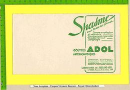 BUVARD :Pharmacie . Spasme ADOL Vert - Drogerie & Apotheke