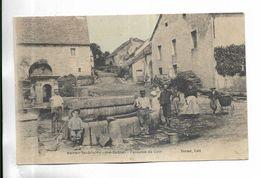 70 - NOROY- Le - BOURG ( Hte-Saône)  Fontaine De Coin. Animée - Andere Gemeenten