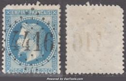 GC 4416 (Beaumarchès, Gers (31)), Cote 75€ - Marcophilie (Timbres Détachés)