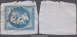 GC 124 (Appoigny, Yonne (83)), Cote 45€ - Marcophilie (Timbres Détachés)