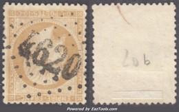 GC 4620 (Boves, Somme (76)), Cote 20€ - Marcophilie (Timbres Détachés)