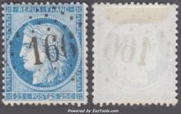 *RARE* GC 166 (Arleuf-du-Morvand, Nièvre (56)), Cote 125€ - Marcophilie (Timbres Détachés)