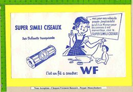 BUVARD :Super SIMILI CISEAUX WF Fillette - Vestiario & Tessile