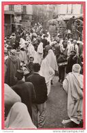 CPSM Format CPA ALGERIE ALGER La Casbah Marché De La Place Du Grand Rabin Bloch    ( D100 ) - Algeri
