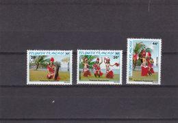 Polinesia Nº 165 Al 167 - Polinesia Francese