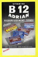 BUVARD : Pharmacie  Vitamine B12 Adrian - Produits Pharmaceutiques