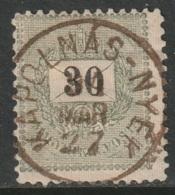 Hungary 1894 Sc 32  Used Kapolnas-Nyek CDS - Oblitérés