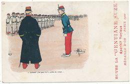"""Albert GUILLAUME - Autand !...Humour Militaire, Publicité Apéritif La """"Gentiane SUZE"""" - Guillaume"""