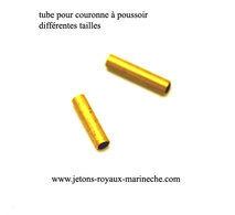 Tube Pour Couronne à Poussoir Différentes Tailles. Vendu A L'unitée, Préciser Le N°. - Jewels & Clocks