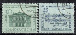 DDR+ 1959 Mi 676-77 Mendelssohn-Bartholdy GH - DDR