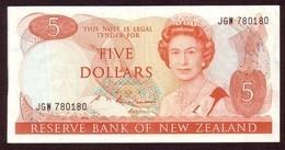 NEW ZEALAND - 5 Dollars (1985 1989) - Pick 171b - Nieuw-Zeeland