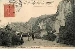 Mareuil Sur Le Lay * La Vue Du Rocher * Pétanque Jeu De Boules - Mareuil Sur Lay Dissais