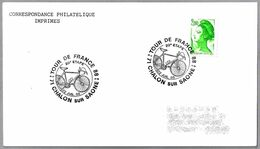 TOUR DE FRANCE 1988 - 20 ETAPA. Chalon Sur Saone 1988 - Cycling