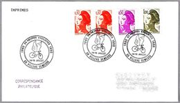 24 HORAS CICLISTAS - Ciclismo - Cycling. Villers Semeuse 1990 - Cycling