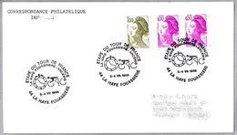 TOUR DE FRANCE - Etapa LA HAYE FOUASSIERE - ANCENIS. La Haye Fouassiere 1988 - Cycling