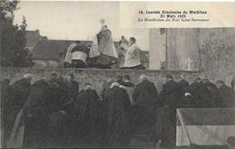VANNES, Journée Diocésaine Du Morbihan. La Bénédiction Du Très Saint Sacrement - Vannes