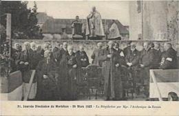 VANNES, Journée Diocésaine Du Morbihan. La Bénédiction Par L'archevèque - Vannes