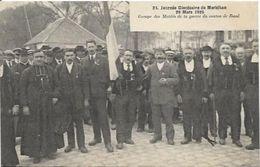 VANNES, Journée Diocésaine Du Morbihan. Les Mutilés De Guerre De Baud - Vannes