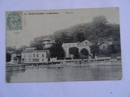 CPA    78  MARLY-le-ROY L'Abreuvoir 1906  TBE - Marly Le Roi