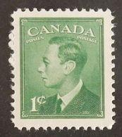 "CANADA YT 236 NEUF** MNH ""GEORGE VI"" ANNÉES 1949/1951 - 1937-1952 Règne De George VI"