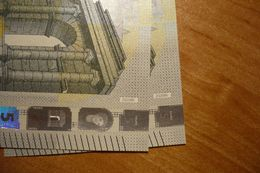 Z020 B6 Draghi 5 EURO 2013 Z020B6 ZD0111335557 - 48 Unc, Neuf - EURO