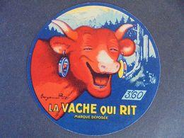 ETIQUETTE  : BENJAMIN RABIER / LA VACHE QUI RIT - VOIR SCAN - Formaggio