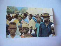 AFRICA AFRIQUE LES PRÊTES DU SACRE CŒUR EN AFRIQUE VISAGES AFRICAINS CPSM FORMAT CPA EDITIONS DE LUXE ESTEL PARIS - Non Classés