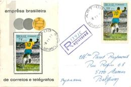 Brésil. 14 Documents Thème Football  (soccer) - Covers & Documents