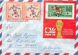 Bulgarie.  19 Documents Thème Football  (soccer) - Covers & Documents
