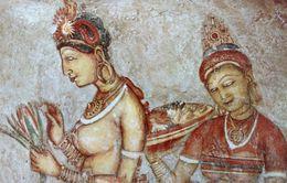 SRI LANKA - CEYLAN - CEYLON Sigirya Frescoes Women Nude - Fresques Nu Féminin érotisme Oriental - Dibujos