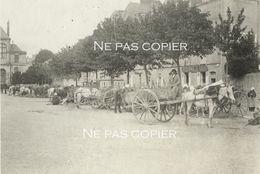 VANNES Vers 1905 MARCHÉ FOIRE Morbihan Bretagne - Lieux