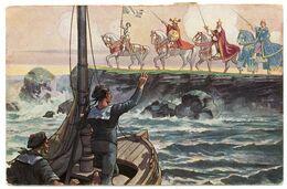 Patriotique.les Marins.l'âme Française.personnalités Symboliques.Jeanne D'Arc.Saint-Louis.Charlemagne.Philippe-Auguste - Patriotiques