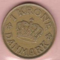 1 Pièce   Danmark    Danemark   1 Krone   Année 1940 - Dänemark