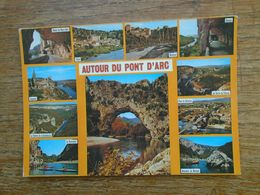 Gorges De L'ardèche , Autour Du Pont D'arc , Multi-vues - Autres Communes