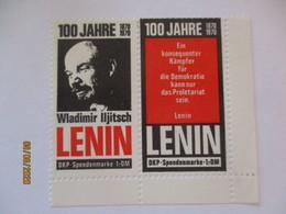 100 Jahre Lenin, Spendenmarke DDR Ca. 70er Jahre (68602) - [6] Democratic Republic