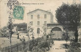 CPA 33 Gironde BEGLES LA CASERNE DE GENDARMERIE ET DOMAINE DU SORBIER - Autres Communes