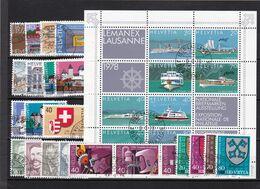 Schweiz, Kpl. Jahrgang 1978, Gest. (K 6702) - Usati