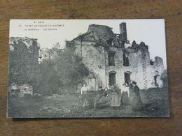 SAINT SAUVEUR LE VICOMTE / Le Quesnoy - Les Ruines - Saint Sauveur Le Vicomte